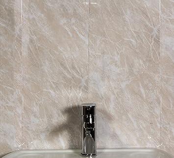 Le Revêtement Store Beige en marbre 5 mm Revêtement en PVC ...