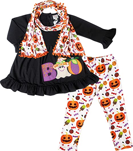 4T Boutique style toddler girl winter outfits size X-Large