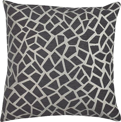 Urban Loft by Westex Giraffe Cushion, 20 x 20 , Grey