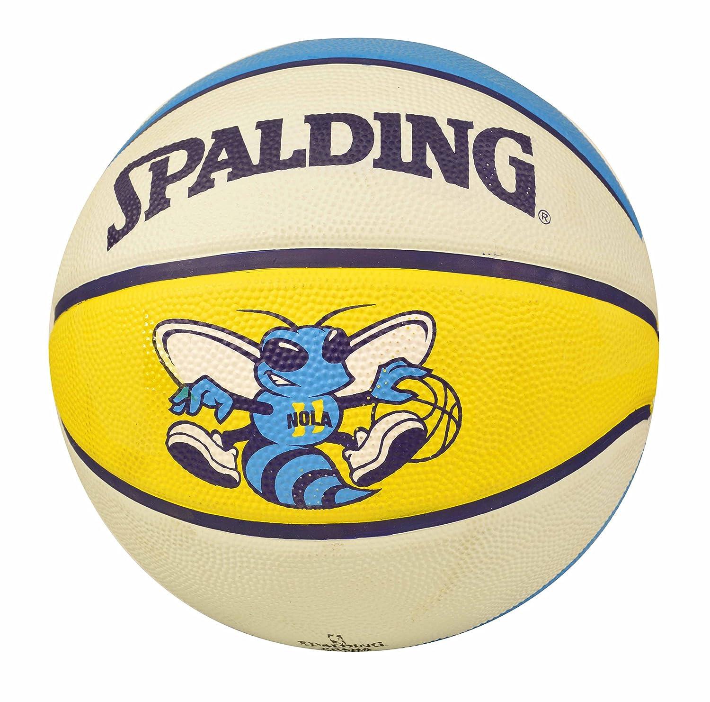 Amazon.com : Spalding New Orleans Hornets Team Basketball ...