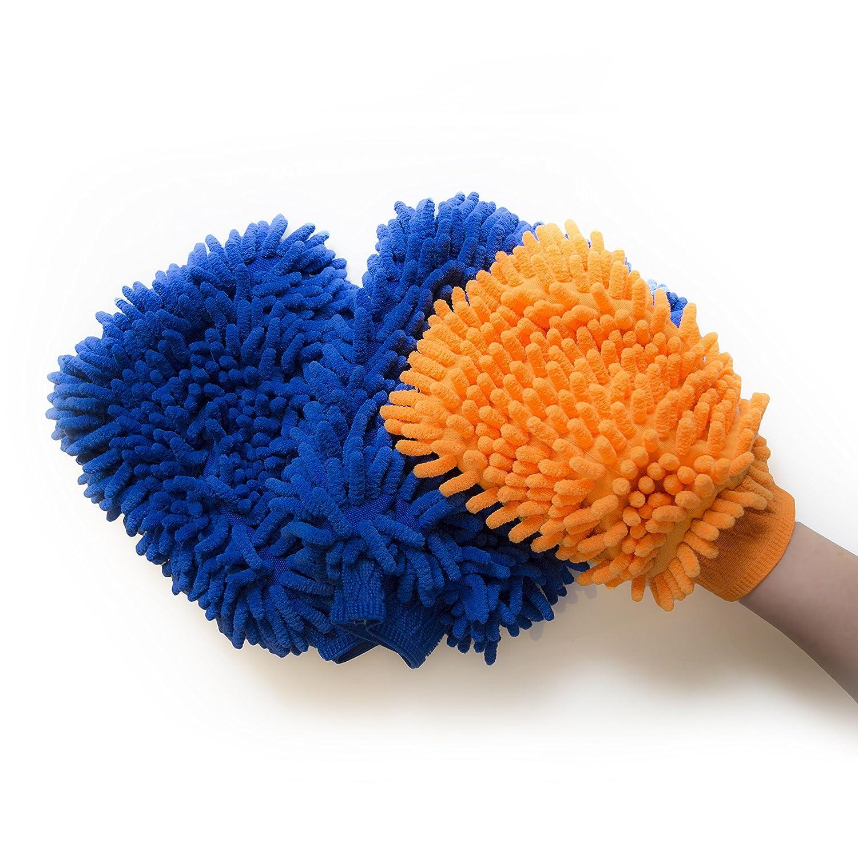 Premium Microfiber Cleaning Mitts