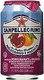 San Pellegrino Melograno E Arancia (Pomegranate & Orange) 11.15 Fl Oz 12 Pack