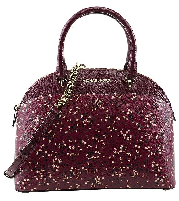 e9b0b4f6ce66 ... sale michael michael kors womens emmy large dome satchel handbag style  35h7gy3s3r mulberry 8ac5d f3cb2