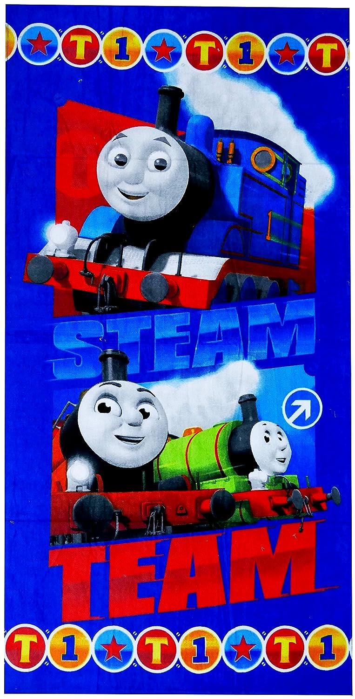 Thomas, la pequeña locomotora playa toalla, 70 x 140 cm, art. 9044: Amazon.es: Hogar