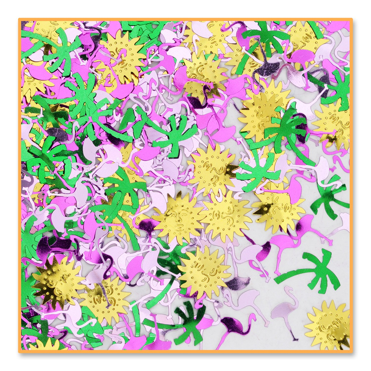 Tropical Breeze Confetti (Pack of 96) by Beistle