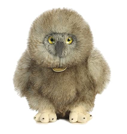 Amazon Com Aurora World Miyoni Great Horned Baby Owl Plush Toys