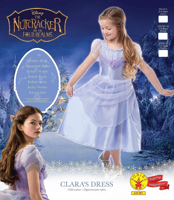 Le ragazze Clara Lavanda Costume Bambini Disney Schiaccianoci Costume Vestito con licenza