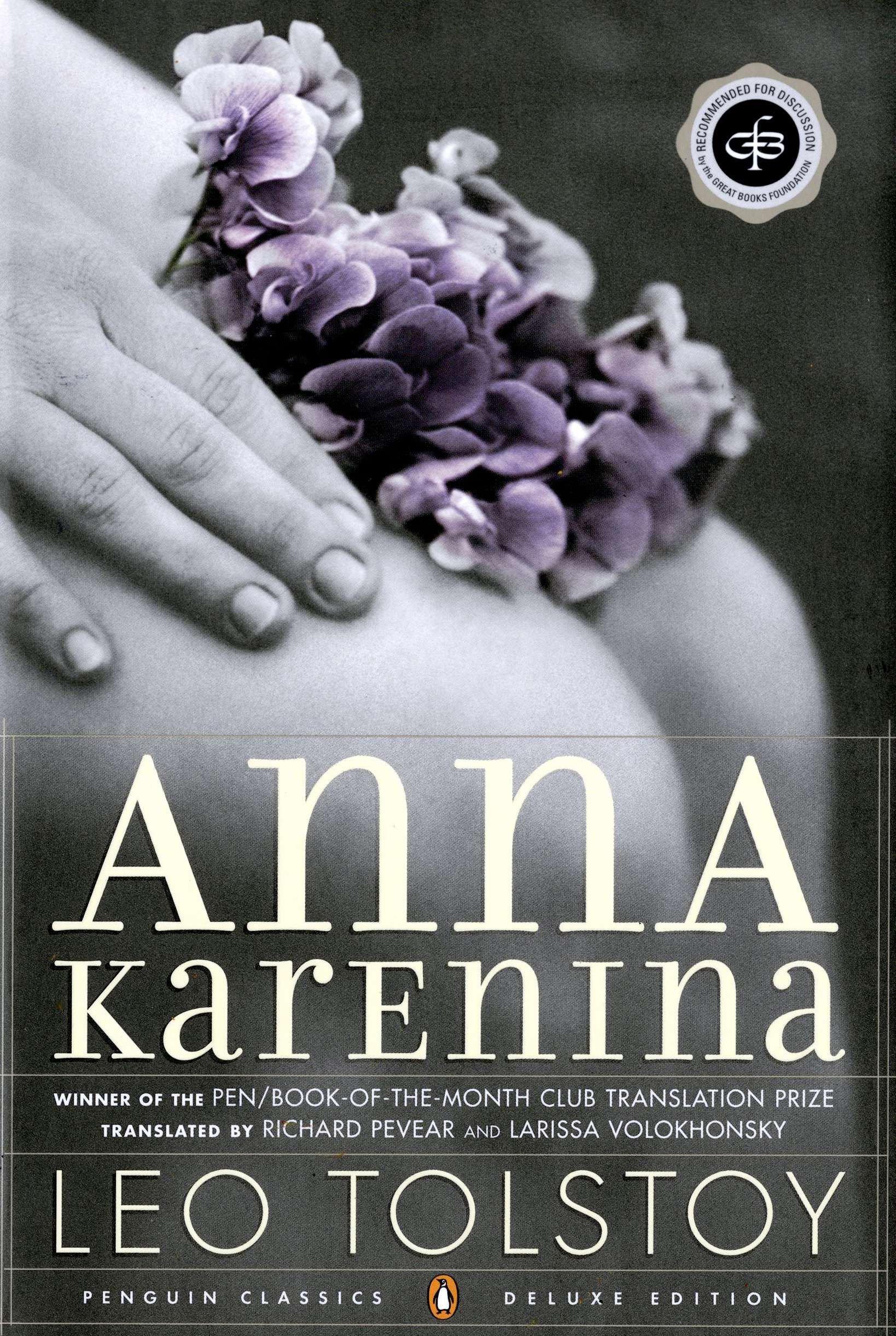 Amazon.com: Anna Karenina (8601400171455): Tolstoy, Leo, Pevear, Richard,  Volokhonsky, Larissa: Books