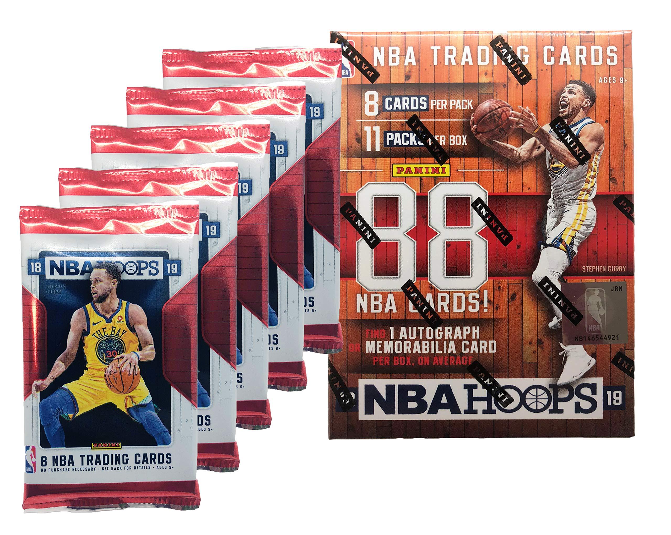 2018 - 2019 NBA Hoops Factory Sealed Basketball Cards w/ 1 AUTOGRAPH OR MEMORABILIA Card Per Box!!