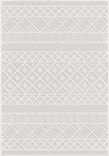 product image for Orian Rugs Coastal Diamond Area Rug, 5' x 7', Ivory