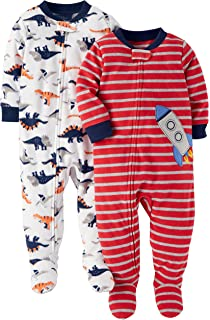 Carters Baby Boys 2-Pack Fleece Pajamas