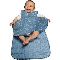 con mangas desmontables-Azul claro/_110CM Saco de Dormir para Beb/é,Saco de dormir para beb/és saco de dormir engrosado para beb/és y ni/ños peque/ños