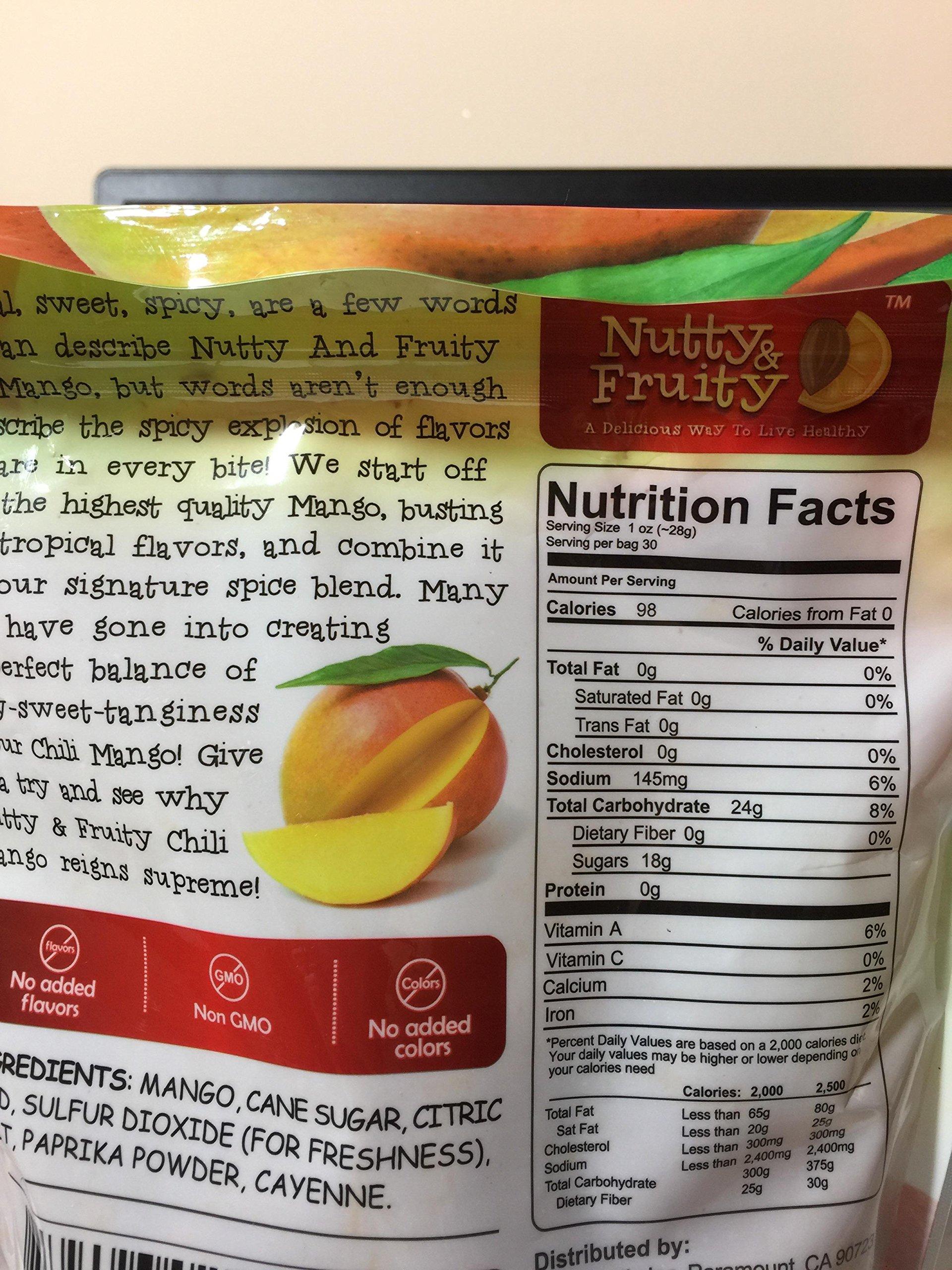 Nutty & fruity chili mango gourmet dried fruit 30 oz. (850g) by Nutty& fruity (Image #2)
