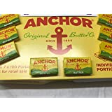 ( 100 Pack ) Anchor Butter Individual Portions Size 7 x 100 Portions
