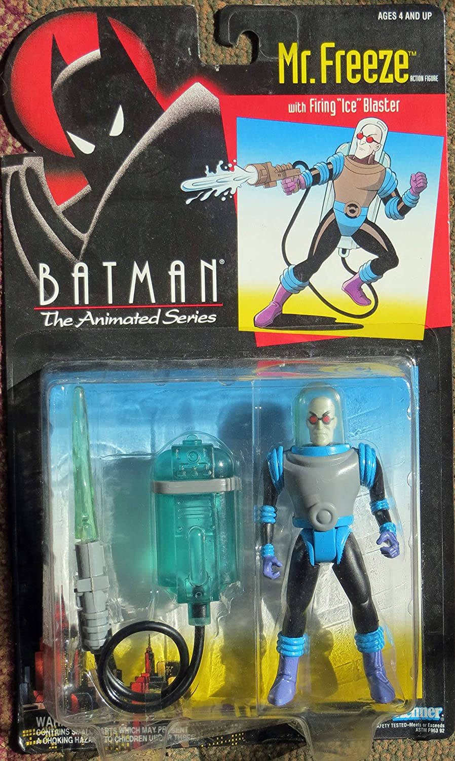 The new batman adventures-mr freeze action figure-en stock