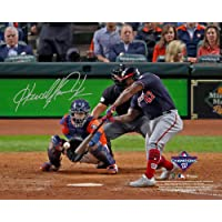 "$129 » Howie Kendrick Washington Nationals Autographed 2019 World Series Champions 8"" x 10"" Game 7 Winning Home Run Photograph…"