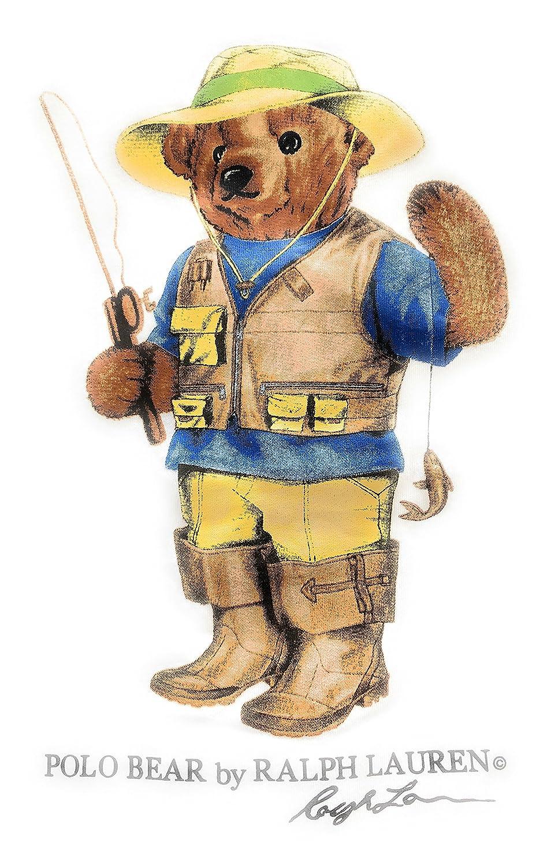 Polo Ralph Lauren Mens Hockey Bear Sweatshirt