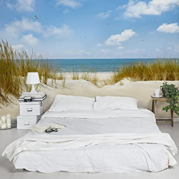 Apalis Fototapete Strand an der Nordsee Vliestapete Breit | Vlies ...