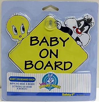 Pancarte /« Baby on Board /» GripFast