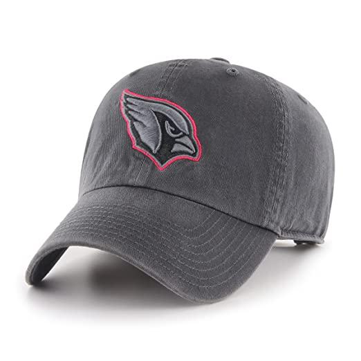 sports shoes 53859 d6ef4 Amazon.com   NFL Arizona Cardinals Male OTS Challenger Adjustable Hat, Dark  Charcoal, One Size   Clothing