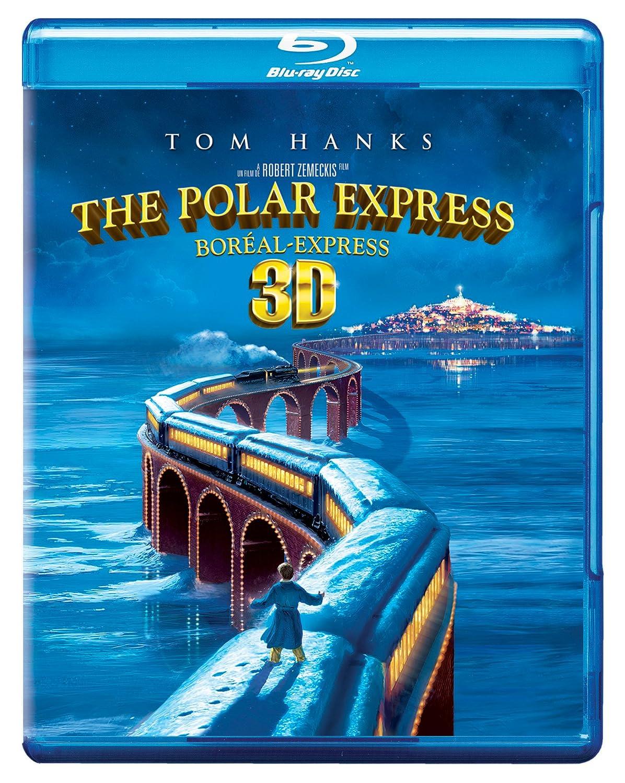 The Polar Express [Blu-ray 3D] (Bilingual) Tom Hanks Nona Gaye Peter Scolari Michael Jeter