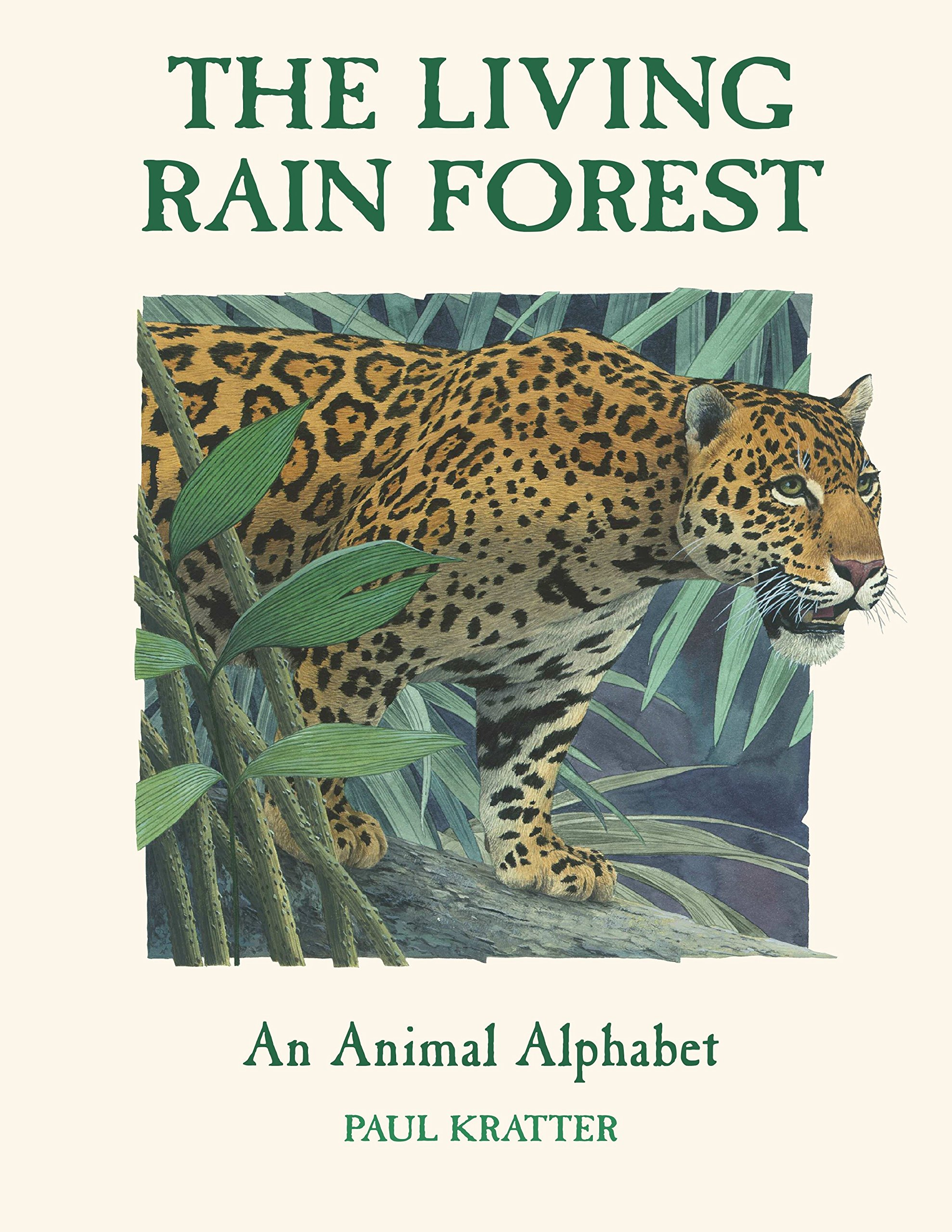 Download The Living Rain Forest: An Animal Alphabet PDF