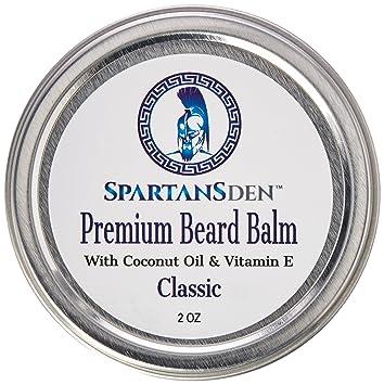 Spartans Den Premium Beard Balm For Men | Coconut Oil & Vitamin E Infused |  Best Conditioner For