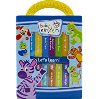 Baby Einstein My First Library - Let's Learn Book Block 12 Board Books