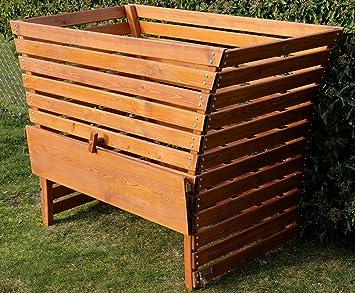 Gran Madera compostador 1140 litros de capacidad muy Lil de ...