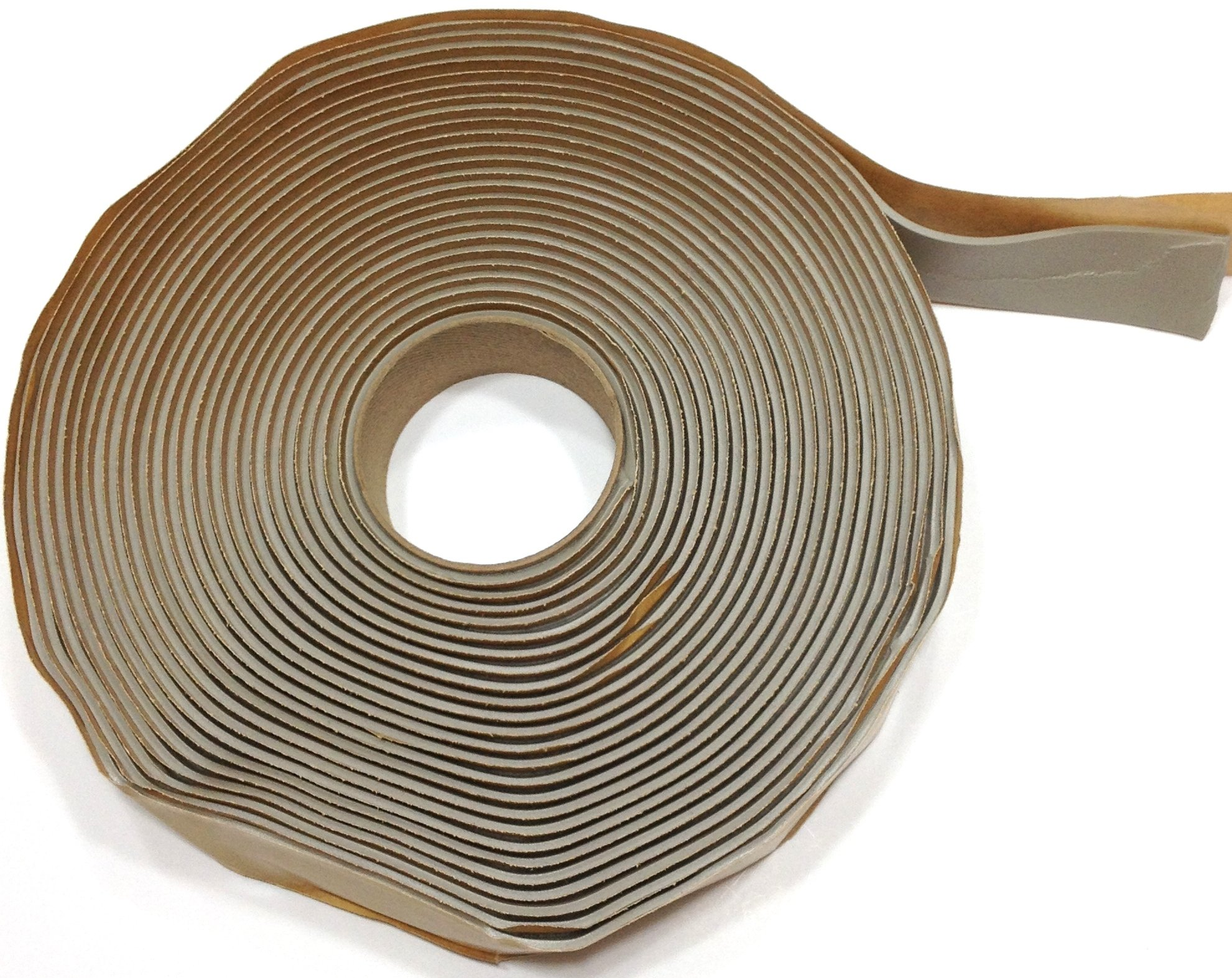 Colormetrics Gray Putty Tape / Butyl Tape 1/8'' x 1'' x 30' (Single Roll)