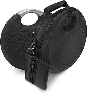 CaseSack – Carrying Case for Harman Kardon Onyx Studio 5, Onyx Studio 6 Bluetooth Wireless Speaker-Sound Through Design to Play in The case