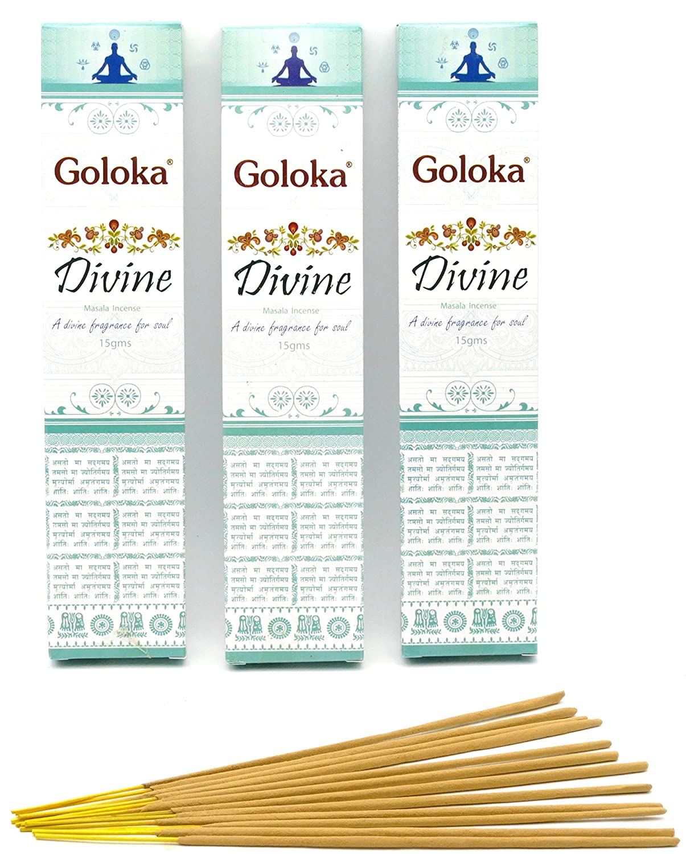 Divine von Goloka von Goloka 1 x 15g Räucherstäbchen