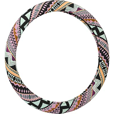 Bell Automotive 22-1-97487-8 Mayan Mint Steering Wheel Cover: Automotive