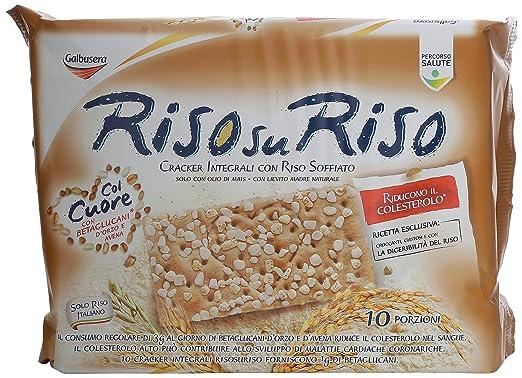 15 opinioni per Galbusera- Riso su Riso, Cracker Integrali con Riso Soffiato- 380 g