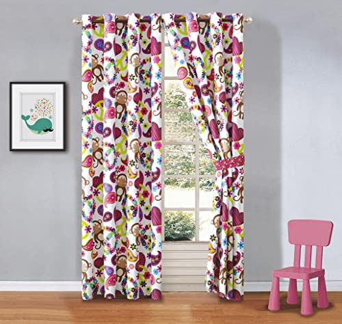 HPD Half Price Drapes SHCH-119-120 Patterned Faux Linen Sheer Curtain 1 Panel , 50 X 120, Strasbourg Dot