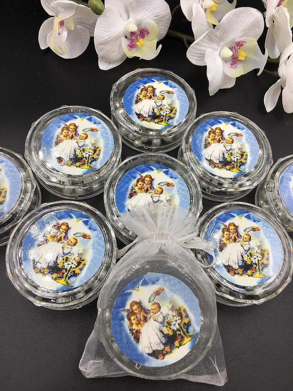 Amazon.com: 12 piezas – Rosarios de bautismo con perlas ...