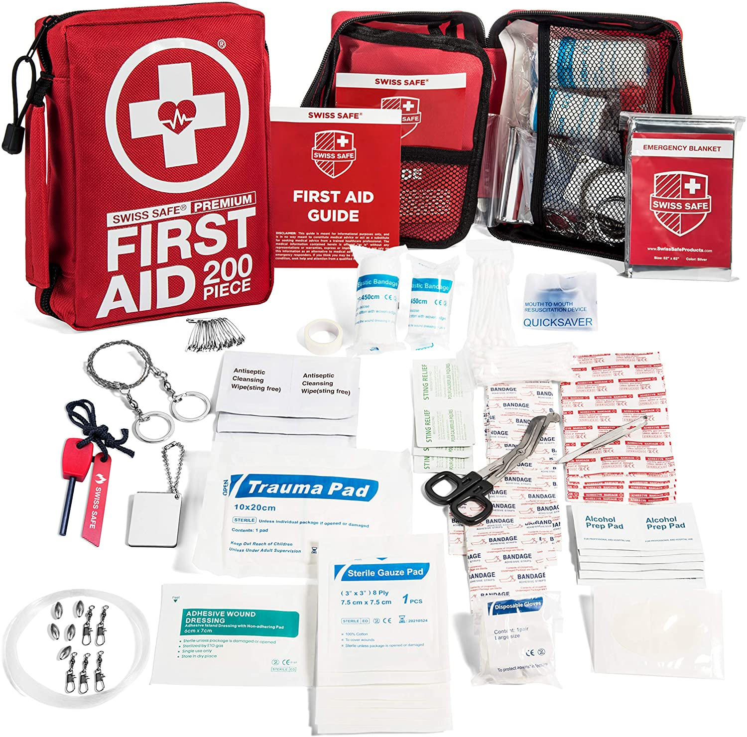 TOUROAM Tactical Emergency First Aid Medical Kit