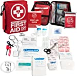 200-Piece Professional First Aid Kit for Home, Car or Work :