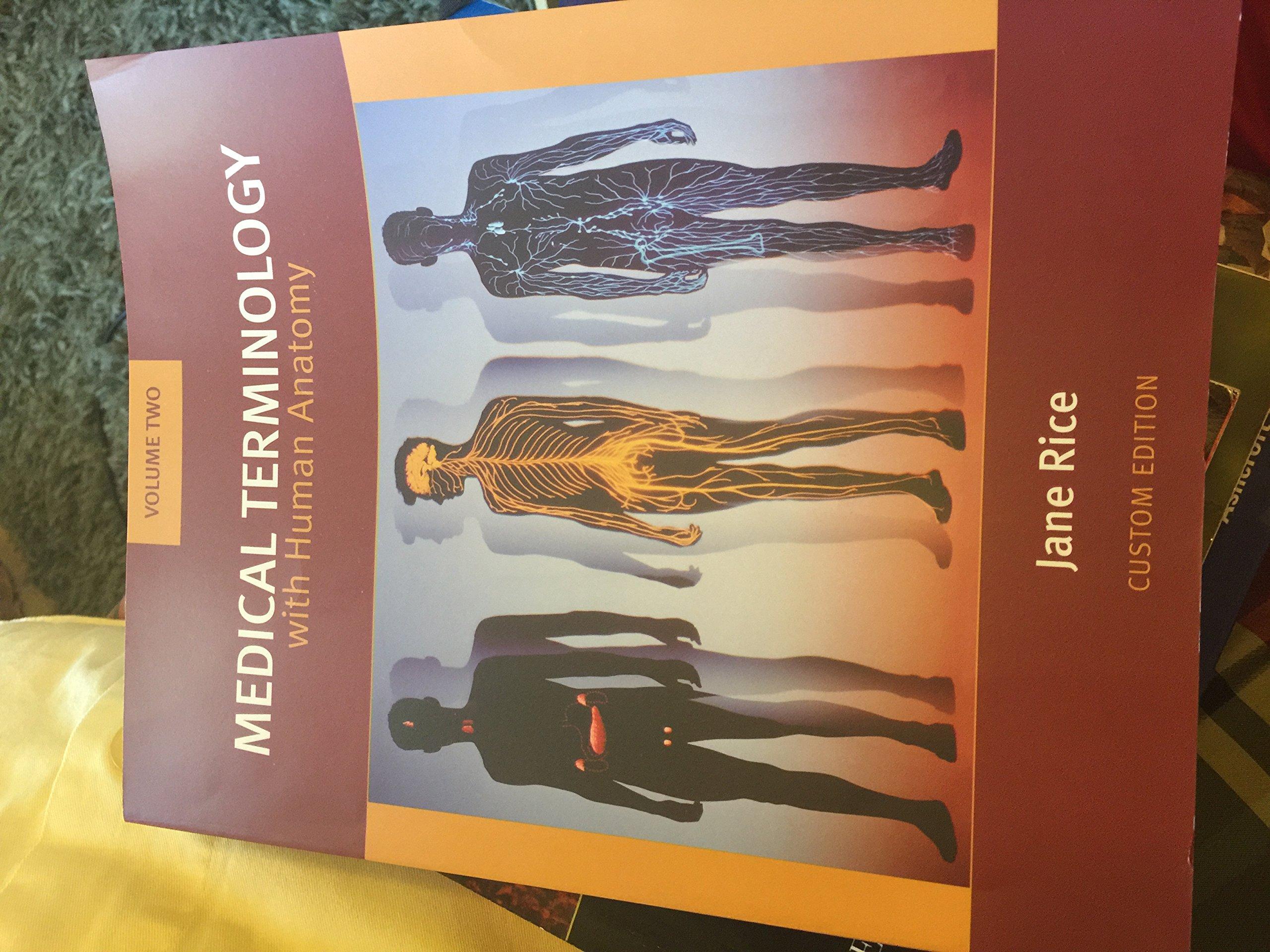 Medical Terminology With Human Anatomy Vol 2 Jane Rice