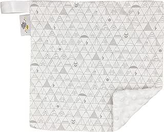 "product image for Original Baby Elephant Ears Boys & Girls Baby Blanket-Soft Minky, for Newborn Infants & Toddlers, Plush Blanket - (Tribal, Mini 12"" x 12"")"