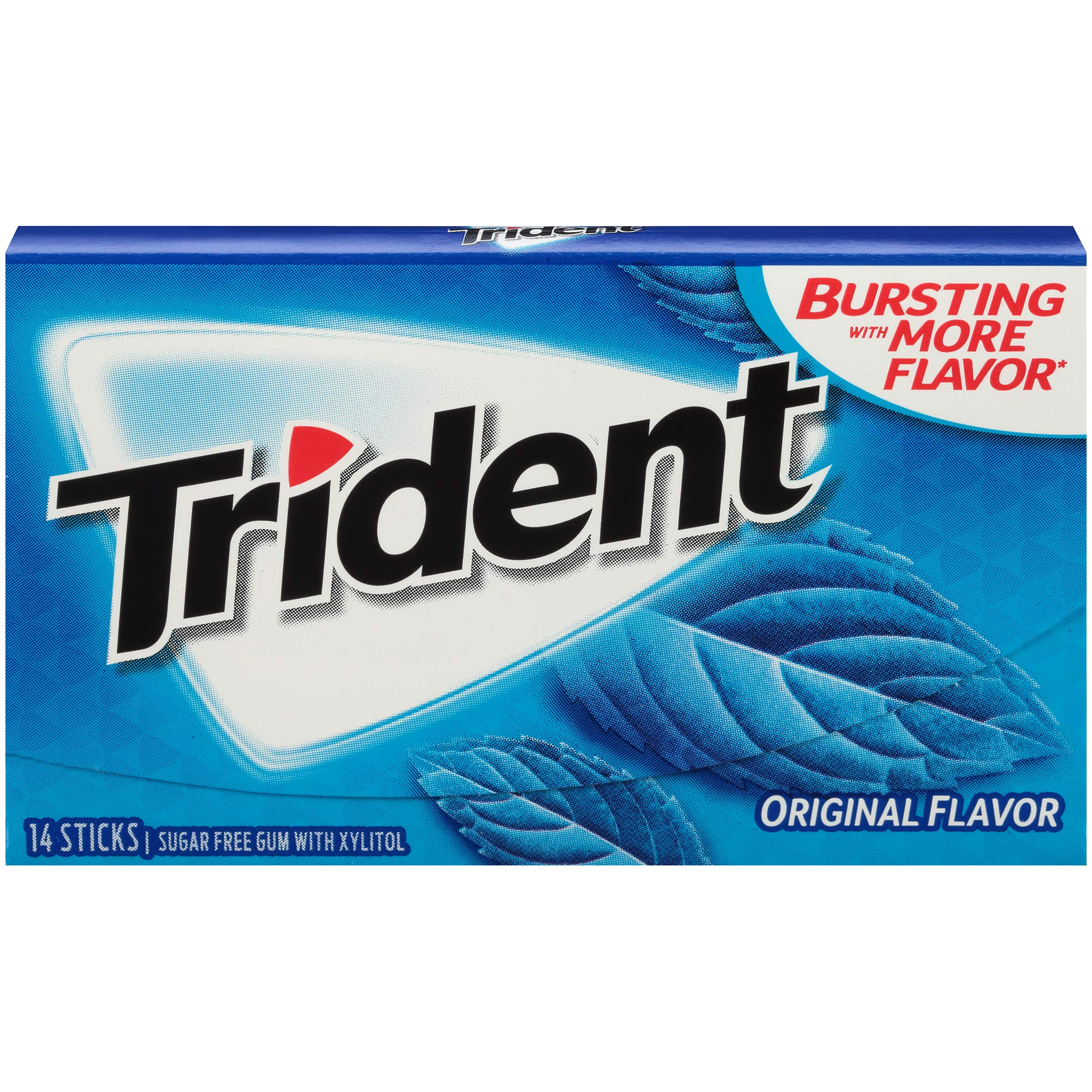 Trident Sugar Free Gum Original, 14 piece pack (24 Packs) by Trident (Image #5)