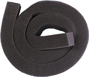 "Supply Guru Air Conditioning Foam Seal Strip/Draft Guard, 42"" Long 1-1/4"" x 1-1/4"", Gray"