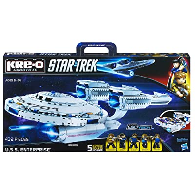 KRE-O Star Trek U.S.S. Enterprise Construction Set (A3137): Toys & Games