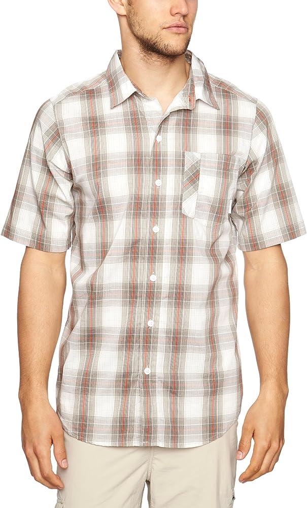 Columbia Island Press Decoy - Camisa de Caza para Hombre, tamaño XXL, Color Fossil: Amazon.es: Ropa y accesorios