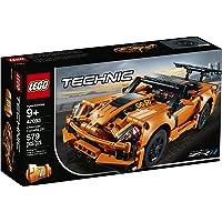 LEGO 42093 Technic Chevrolet Corvette ZR1 & Hot rod, 2-in-1 sportauto model, Raceauto's collectie