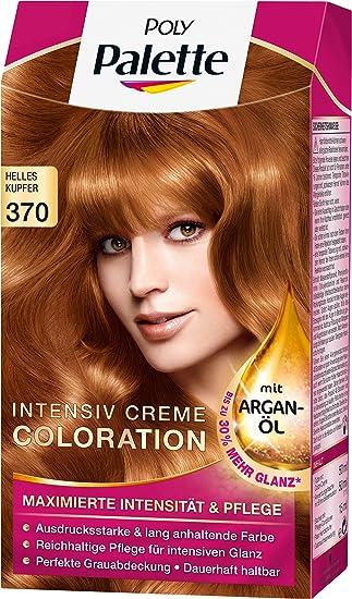 Haarfarbe braun palette