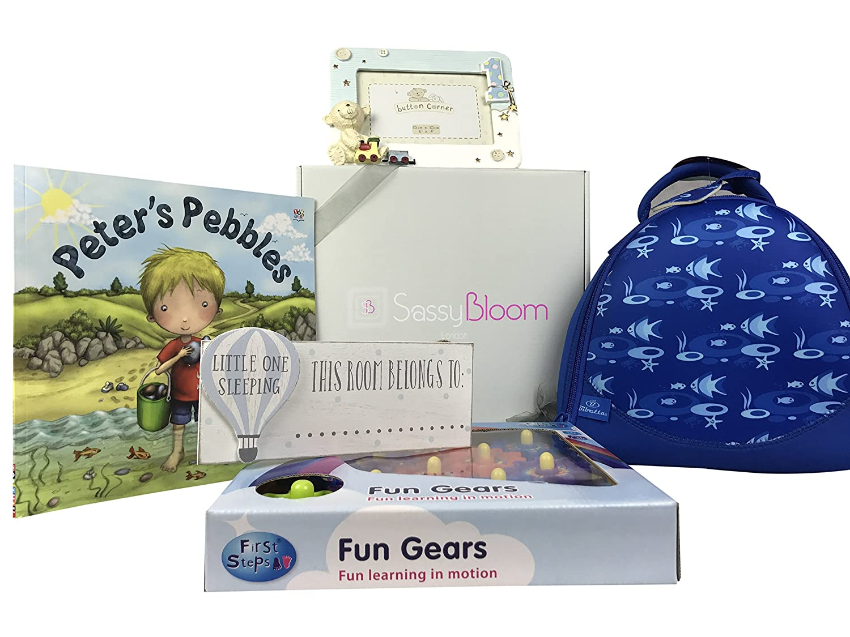 d480bbb4939f Sassy Bloom 1st Birthday Special Edition Boys Gift Box: Amazon.co.uk: Baby