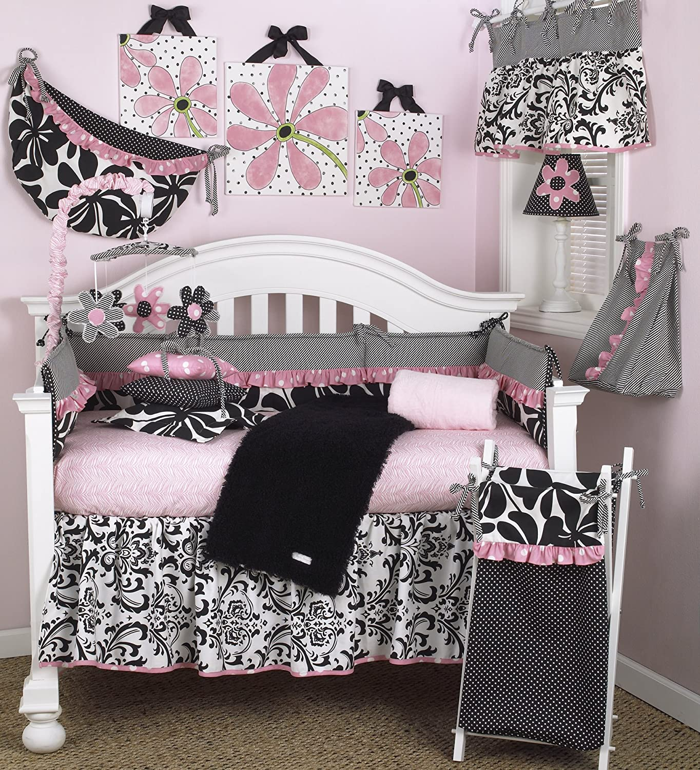 Cotton Tale Designs Girly 8-Piece Crib Bedding Set, 1-Pack TY8S