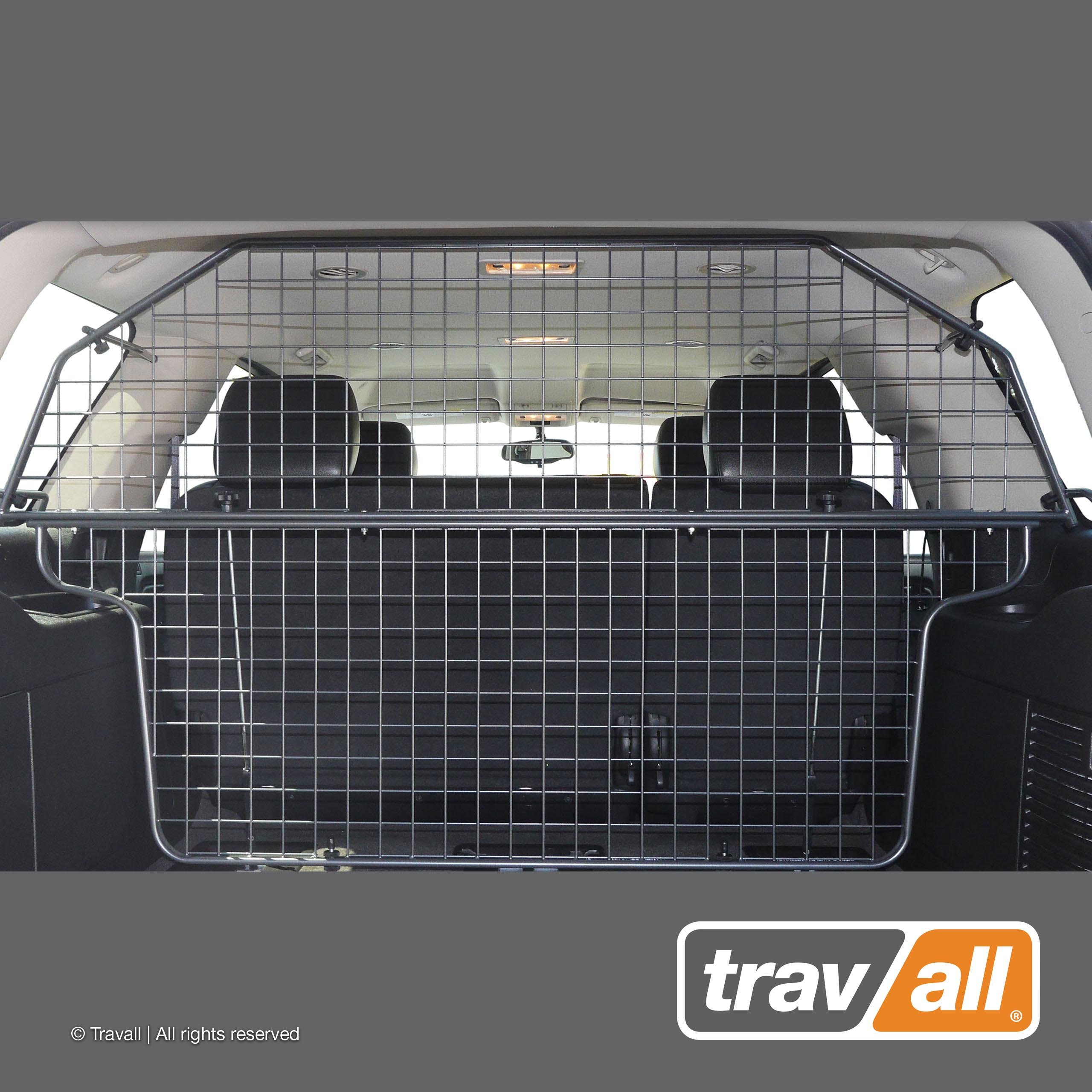 Travall Guard Compatible with Chevrolet Tahoe (2007-2010) Also for GMC Yukon (2006-2014)- Original Guard TDG1434 - Rattle-Free Steel Pet Barrier