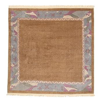 Teppich quadratisch  Nepal Original Teppich 240x240 Moderner, Quadratisch Teppich ...